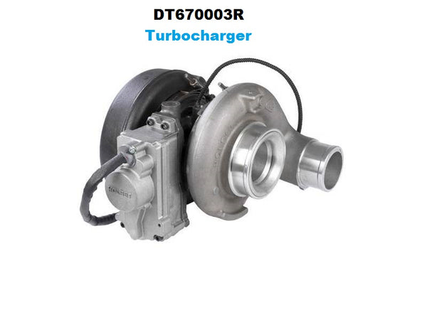 Dodge 6.7L DT670003R Turbocharger