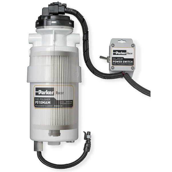 EFF - Pump and Filter Fuel Polishing System - Racor P510MAM Series