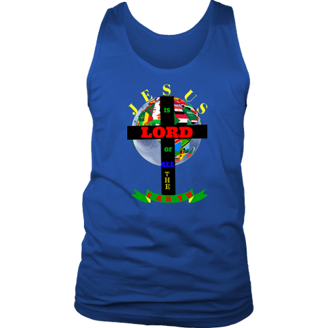 Jesus is Lord District Mens Tank