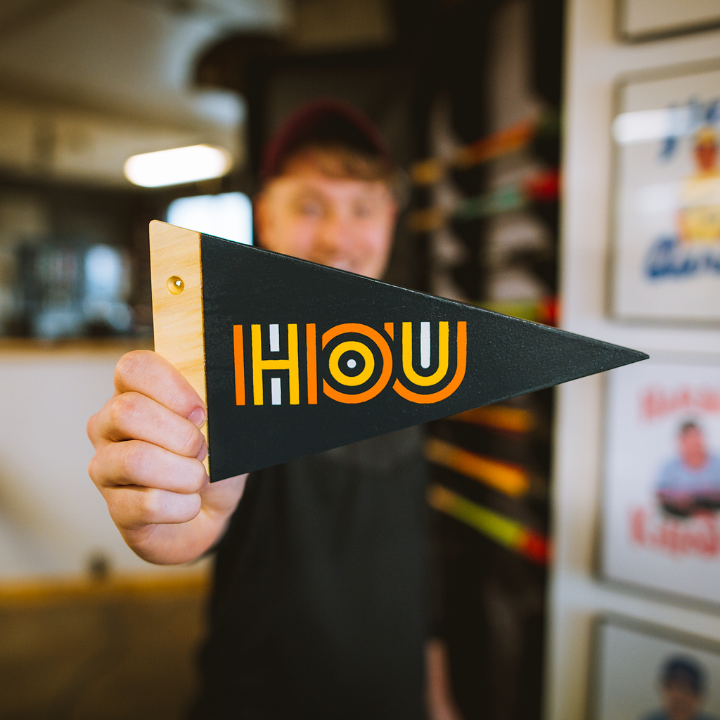 2019 HOU - Wooden Pennant