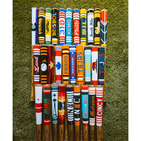 Complete 2020 Opening Day Collection - Limited Edition of 5 Sets - Pillbox Bat Co.