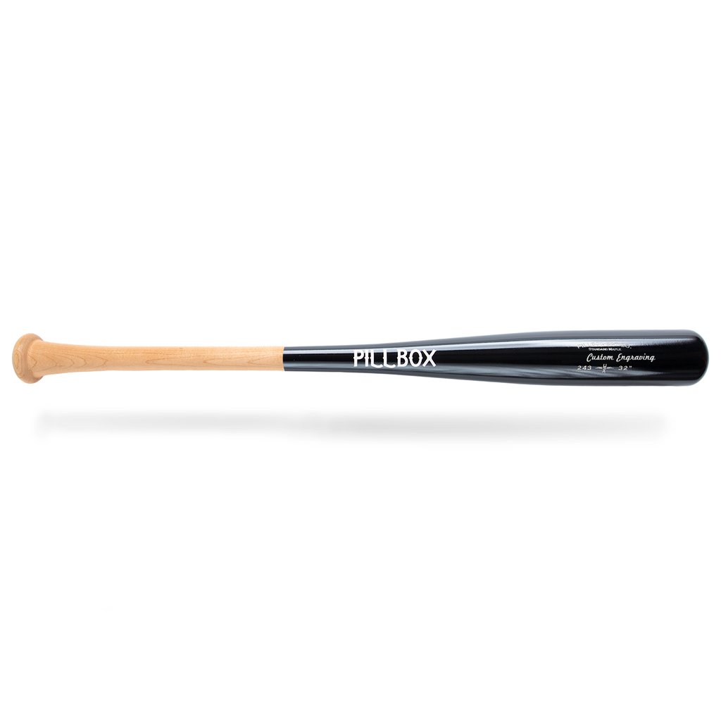 PB243 - Standard Maple Wood Bat - Pillbox Bat Co.