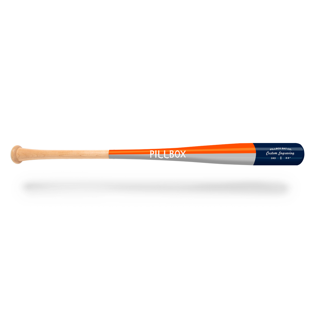 PB243 - Legends Maple Wood Bat - Pillbox Bat Co.