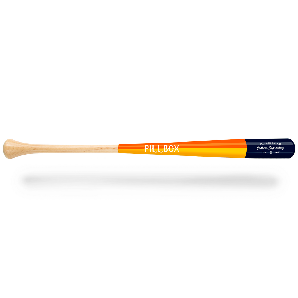 PB73 - Legends Maple Wood Bat - Pillbox Bat Co.