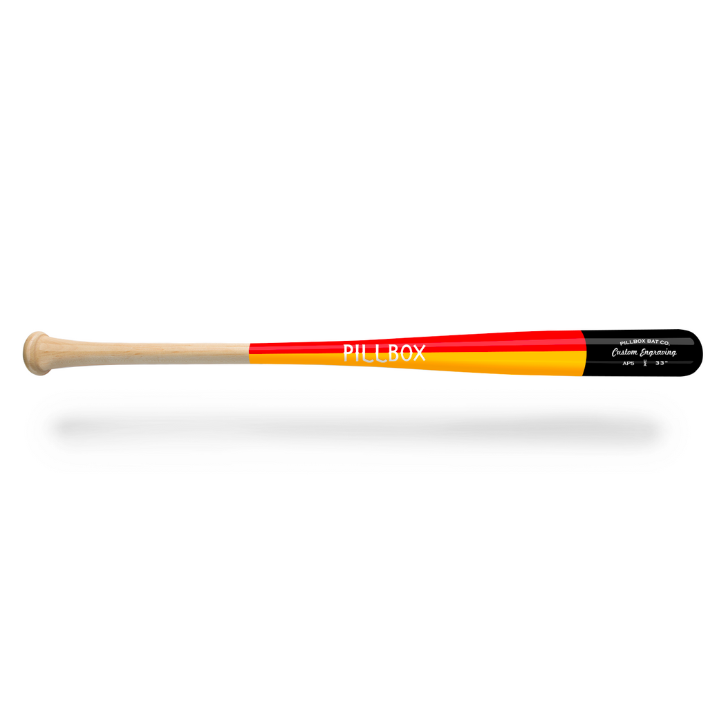 PBAP5 - Legends Maple Wood Bat - Pillbox Bat Co.