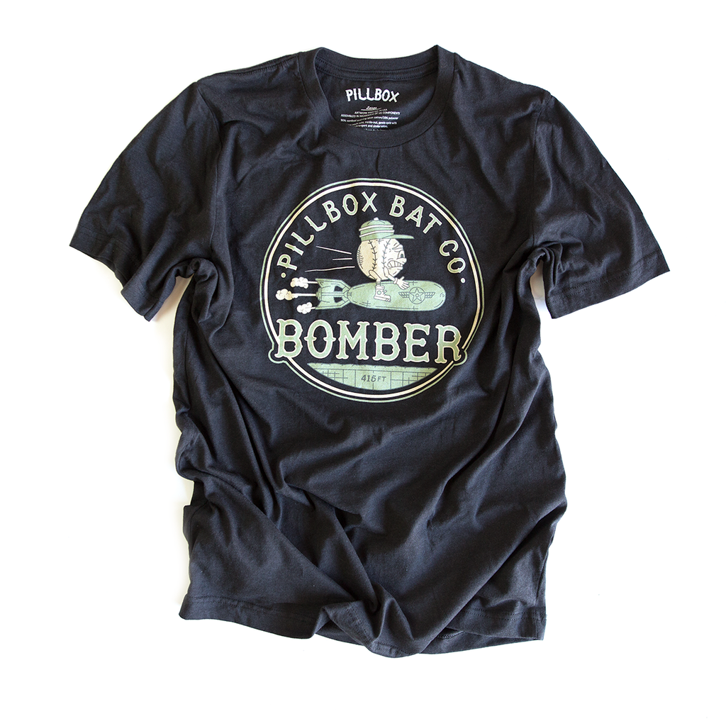 Bomber Tee - Artist Series - Pillbox Bat Co.