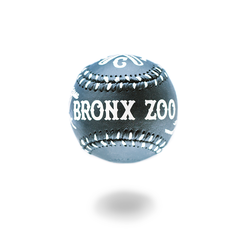 """Bronx Zoo"" - Hand-Painted Baseball"