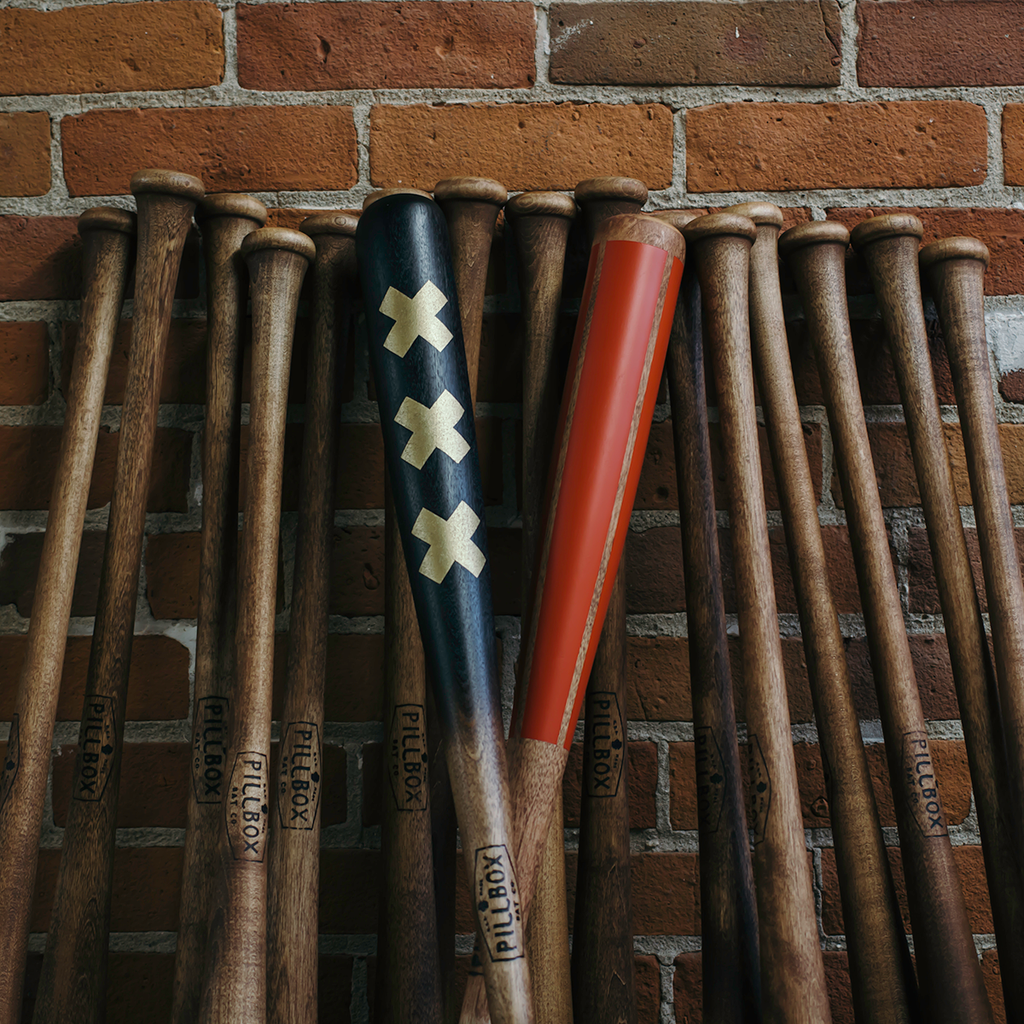 """Three Strikes - Flamethrower"" - Pillbox Bat Co."