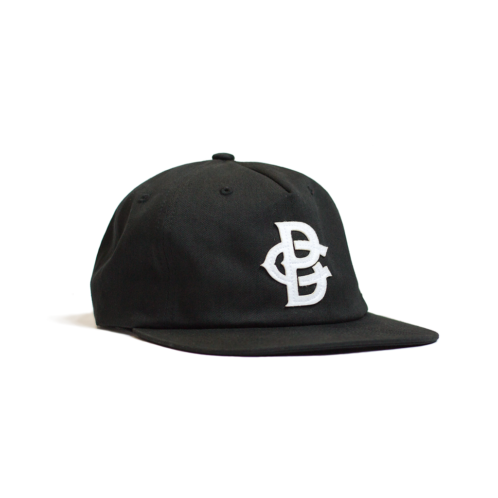 Pinchfront Baseball Hat - Black - Pillbox Bat Co.