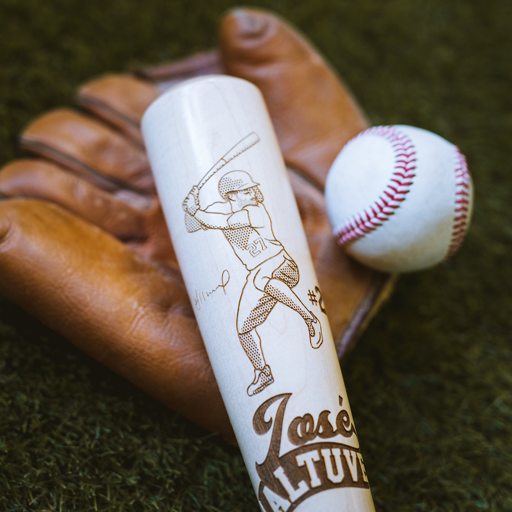Jose Altuve MLBPA - Baby Lasered Design