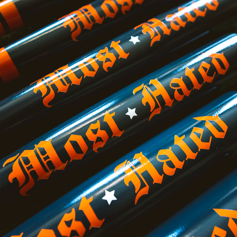 Most Hated - Running Game Collab - Pillbox Bat Co.