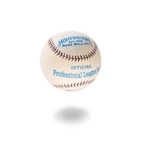 PROFESSIONAL LEAGUE BALL 1910'S - AL STYLE x Huntington Base Ball Co.