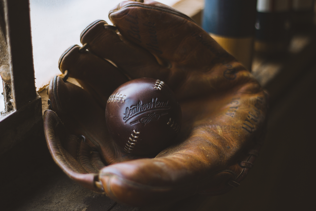 LEMON BALL™ Baseball - Brown Horween (White Stitching) - Pillbox Bat Co.