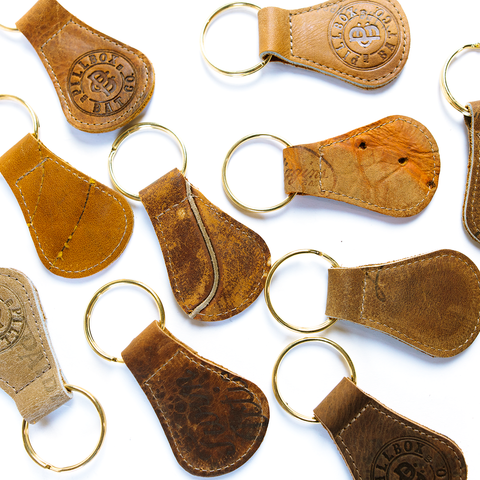 Baseball Glove Keyfob - Pillbox Bat Co.