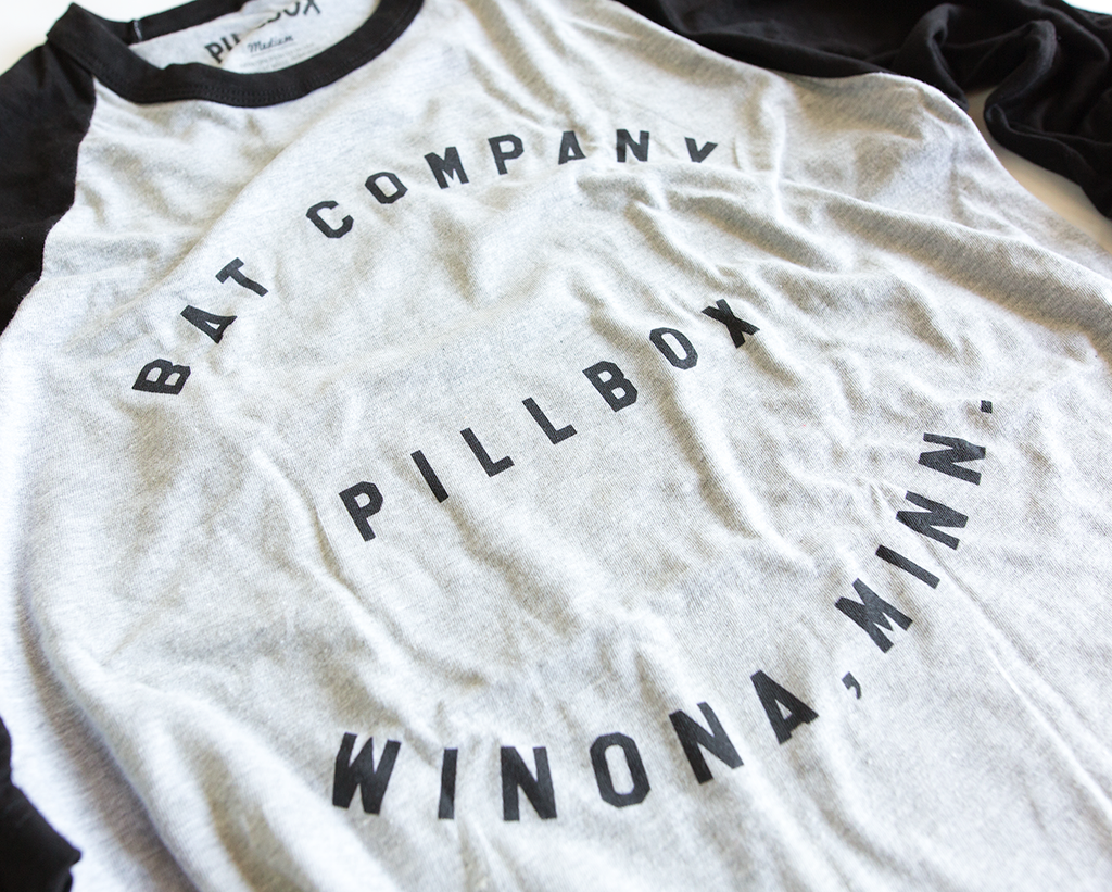 Pillbox Baseball Raglan - Pillbox Bat Co.