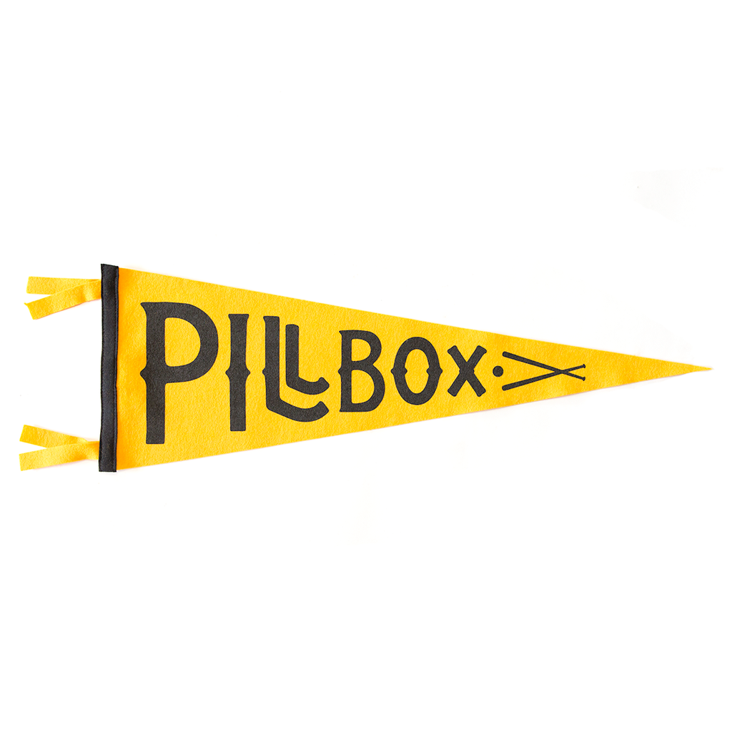 Pillbox Pennant - Pillbox Bat Co.
