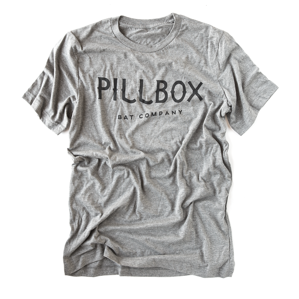 Pillbox Logo Tee - Pillbox Bat Co.