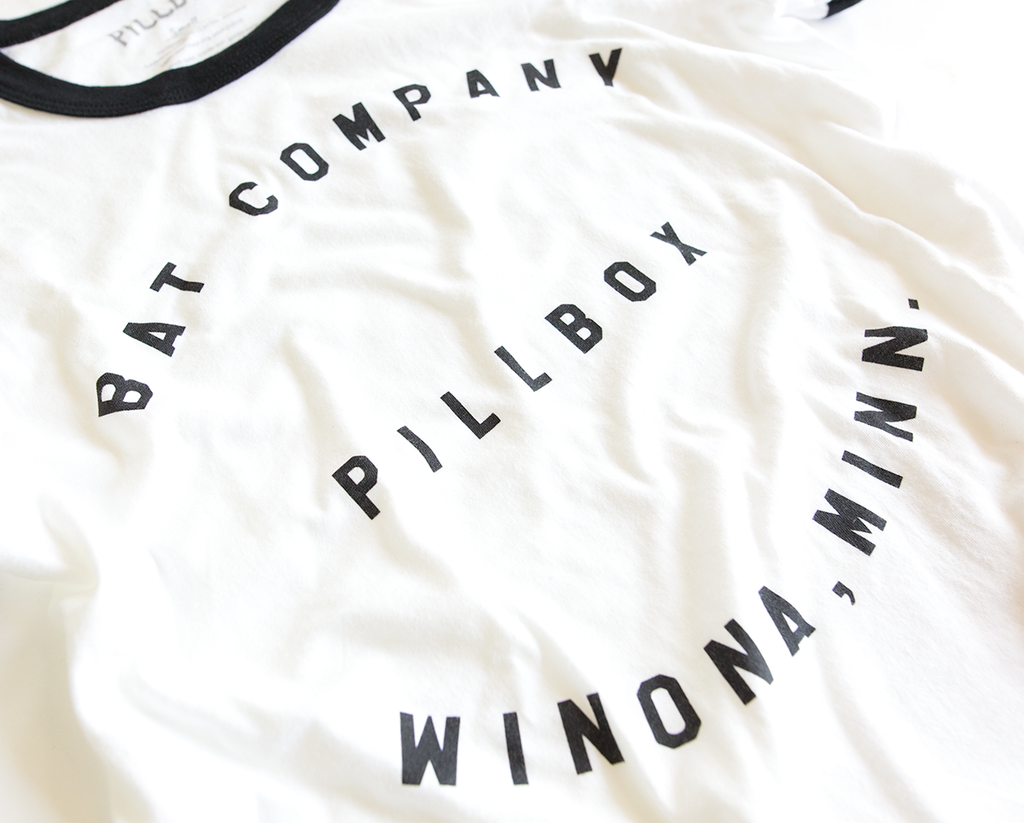 Pillbox Ringer Tee - Pillbox Bat Co.