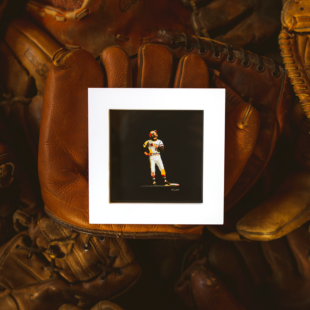 """Clemente"" - Giclee Print - Pillbox Bat Co."