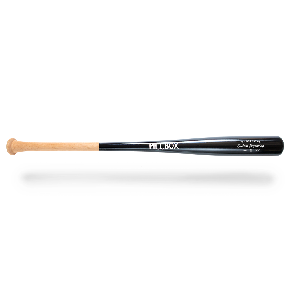 PB110 - Standard Maple Wood Bat - Pillbox Bat Co.