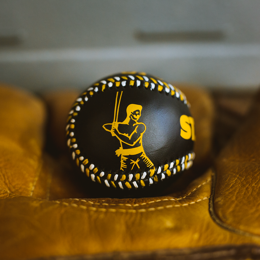 """St. Paul"" - Hand-Painted Baseball"