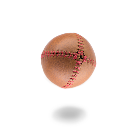 "LEMON BALL™ Baseball - ""Old Fashioned"" Leather (Red Stitching)"