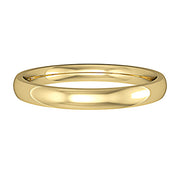 2.5mm Court Shape Band