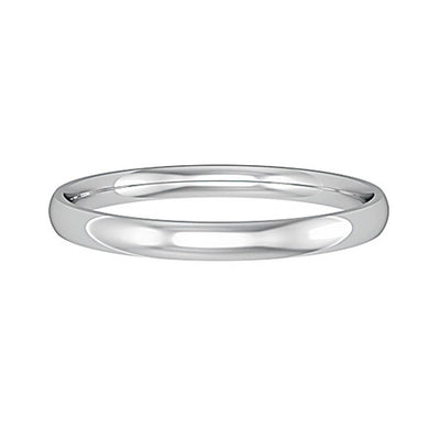 2mm Court Shape Band