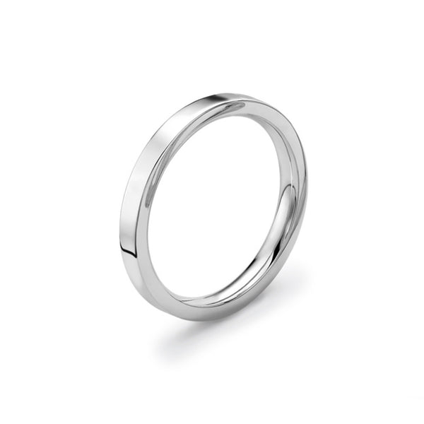 2.5mm Premium Flat Court Wedding Band