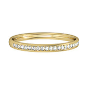 Mirco Claw Half Eternity Ring 2mm