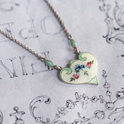 J. Aitkin & Sons Vintage Guilloche Enamel Necklace
