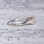Vintage 1.20 Carat Diamond Solitaire Engagement Ring