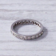 Art Deco Single Cut Diamond Full Eternity Ring
