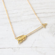 Victorian Diamond Arrow Conversion Necklace