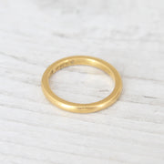 Vintage 22ct Gold Wedding Band