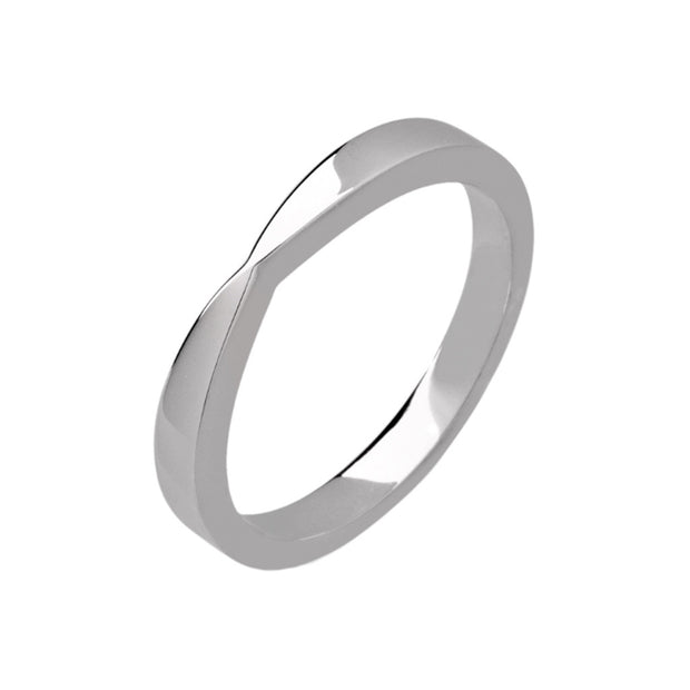 Bow Shape Wedding Band