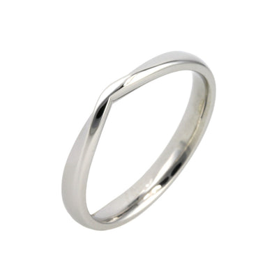 V Shape Wedding Band