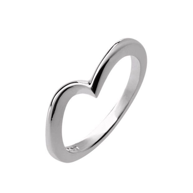 Asymmetric Wedding Band