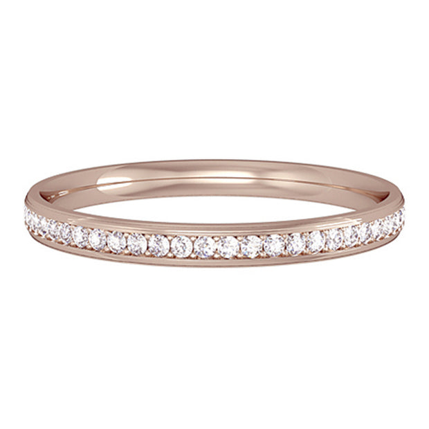 Mirco Claw Full Eternity Ring 2mm