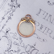 Edwardian 9ct Gold Pearl Set Locket