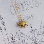Victorian 'Lucky Pig' 10ct Gold Charm Pendant