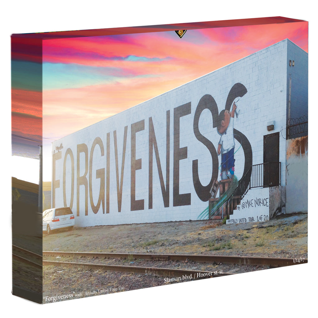 "Artfully United's ""Forgiveness"" wall print"