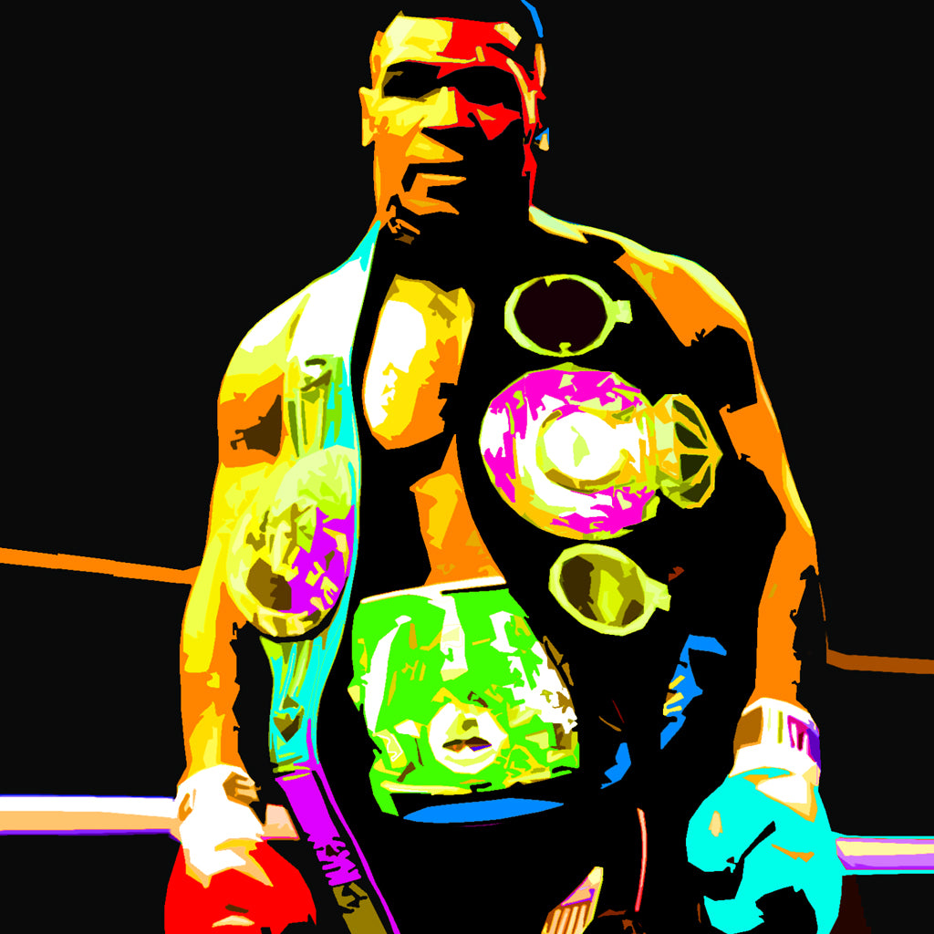 "Custom Mike Tyson ""Young Champ"" Painting"