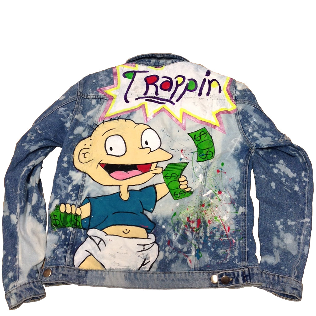 "Custom Tommy ""Trappin"" Jean Jacket"