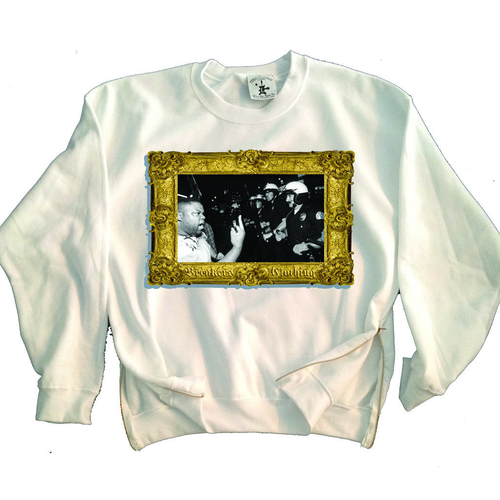 F**ck the Police Crewneck Sweater - BYN Customs