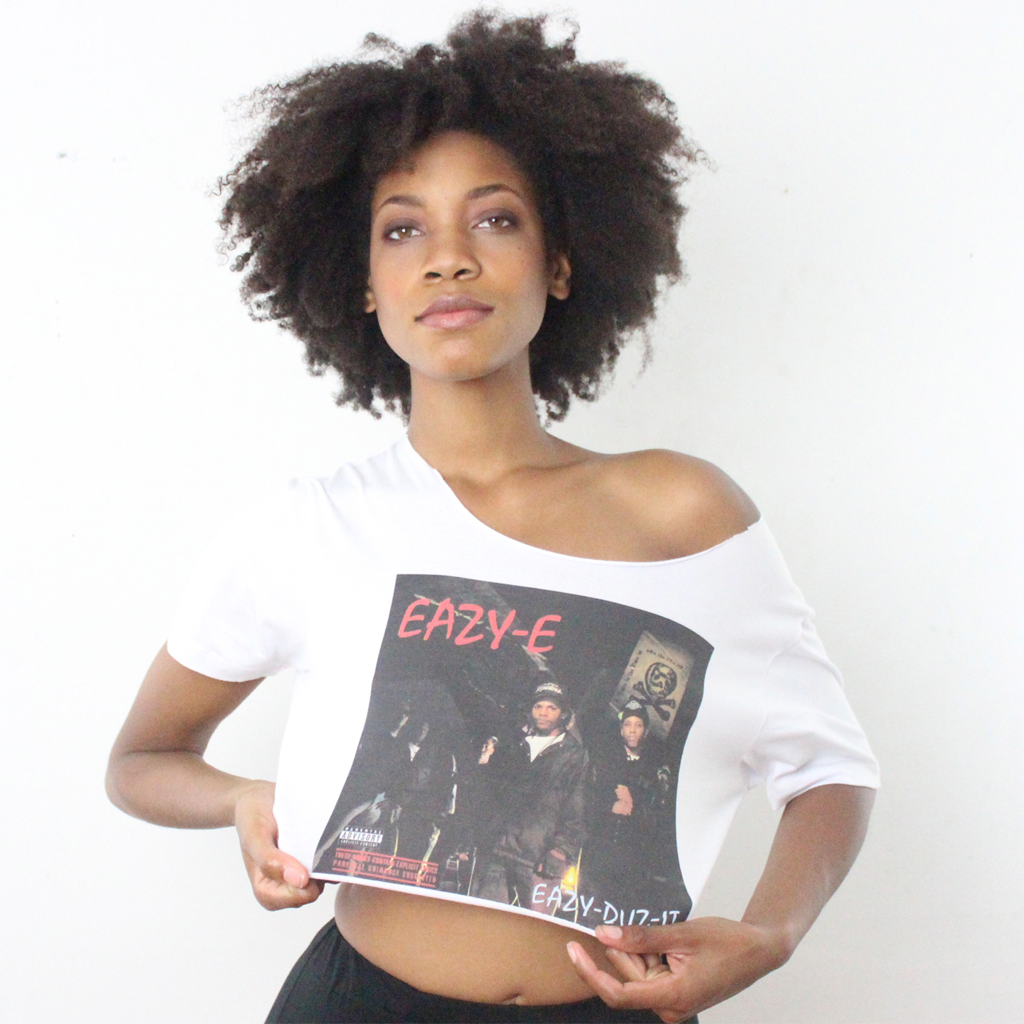 Women's Eazy E Crop Top - BYN Customs - 2