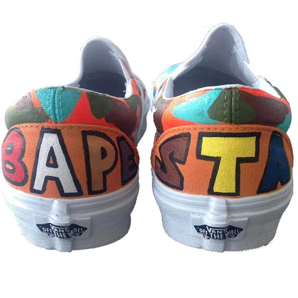 Bape World Custom Vans - BYN Customs - 3