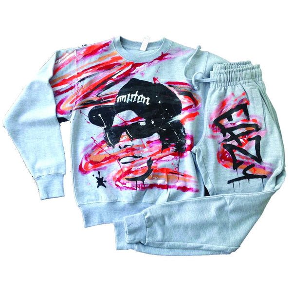 Eazy E Crewneck and Jogger set - BYN Customs