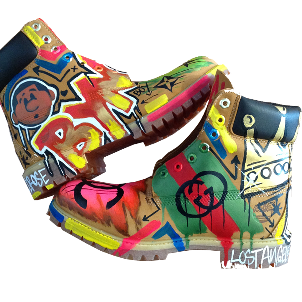 Custom Graf Fashion Timberlands - BYN Customs - 3