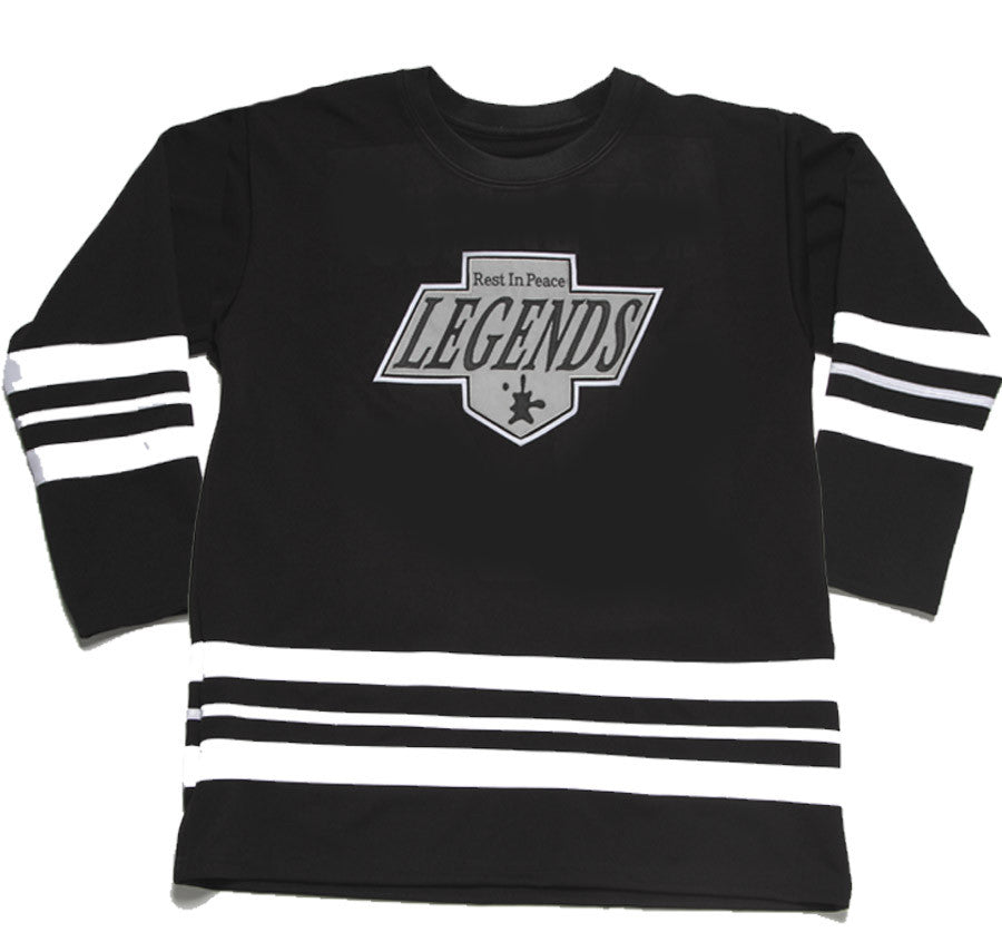 Notorious BIG Hockey Jersey Black - BYN Customs - 2